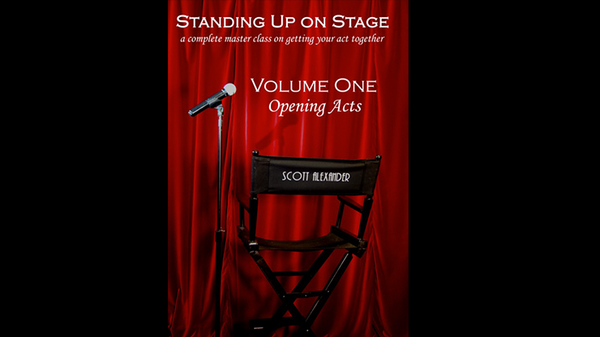 Standing Up On Stage - Vol 1 - Scott Alexander