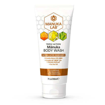 Mānuka Triple Action Body Wash - Manuka Lab New Zealand