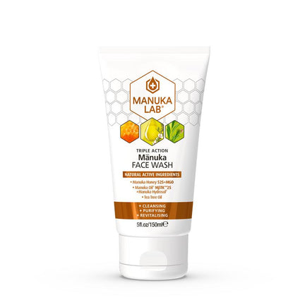 Triple Action Face Wash - Manuka Lab New Zealand