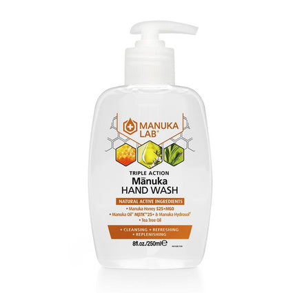 Triple Action Hand Wash - Manuka Lab New Zealand