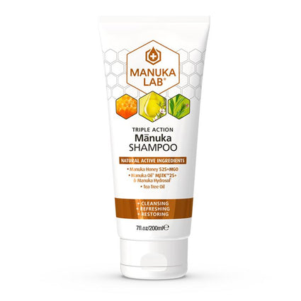 Triple Action Shampoo - Manuka Lab New Zealand