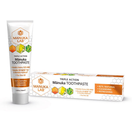 Triple Action Toothpaste - Manuka Lab New Zealand
