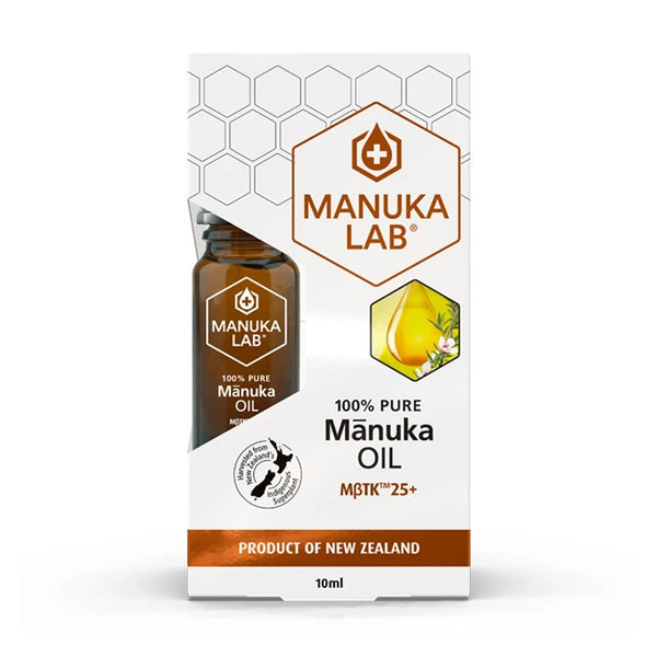New Zealand Mānuka Oil MBTK™ 25+ 100% Pure - Manuka Lab New Zealand
