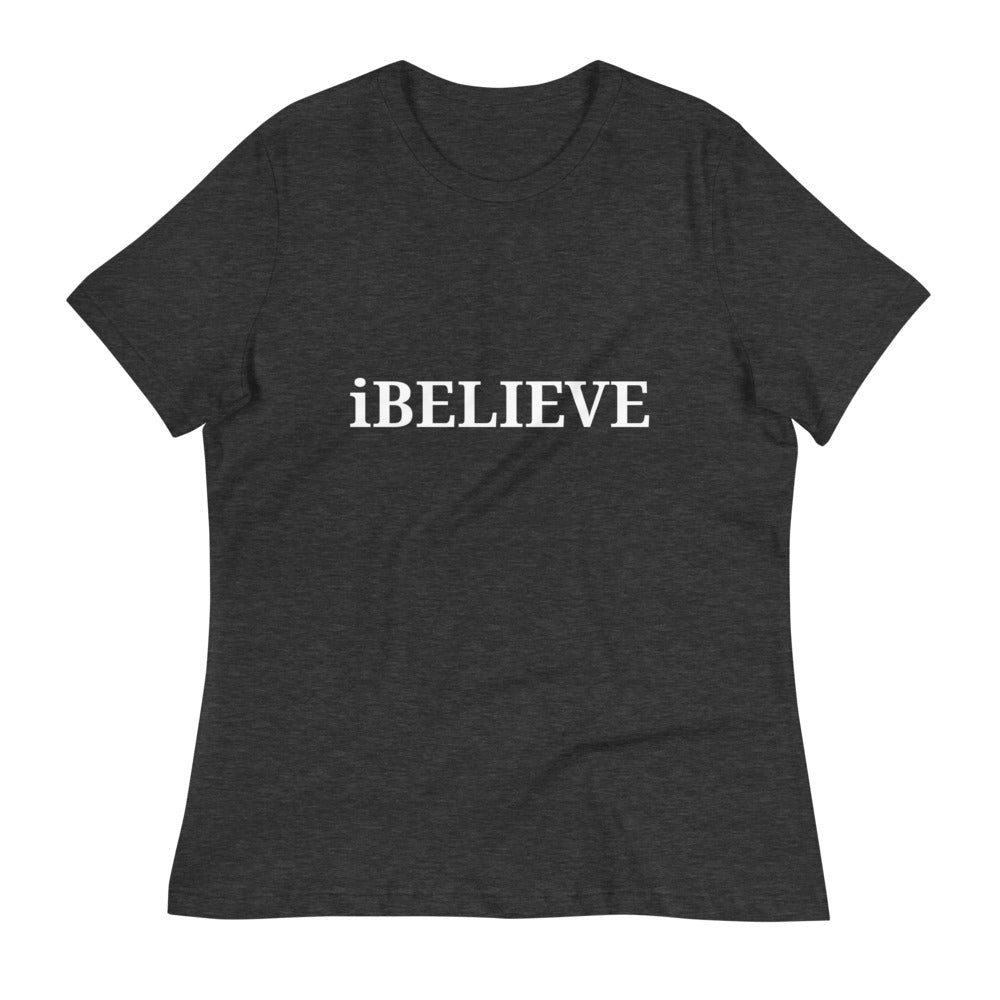 iBELIEVE WOMEN'S T-SHIRT