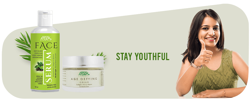 sscpl age defying cream and face serum combo