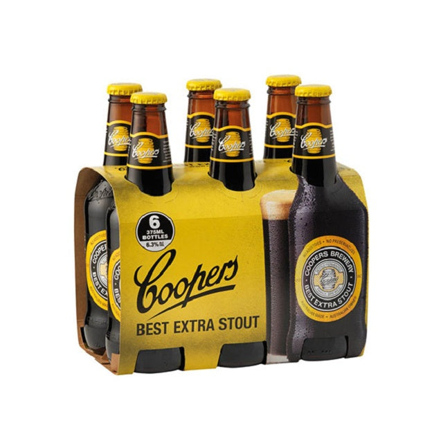 Coopers Stout 6 Pack 375ml