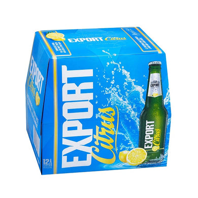 Export Citrus 12 pack
