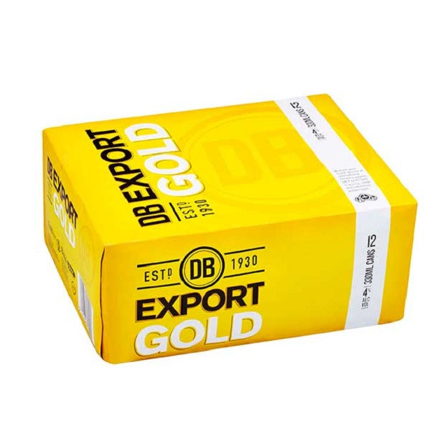 DB Export Gold 12 pack cans