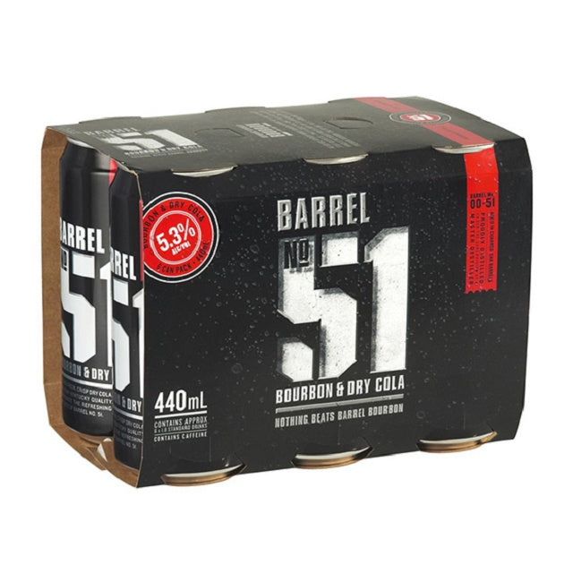 Barrel 51 5% 6 pack 440ml