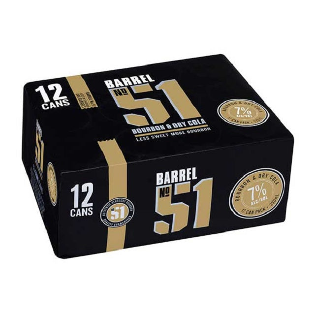 Barrel 51 7% 12 pack 330ml cans
