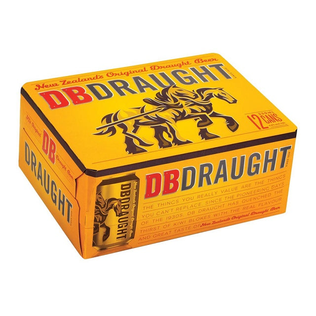 DB Draught 12 cans