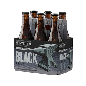 Monteith's Black 6 Pack 330ml