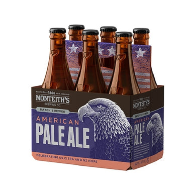 Monteith's Patriot APA. 6 Pack 330ml