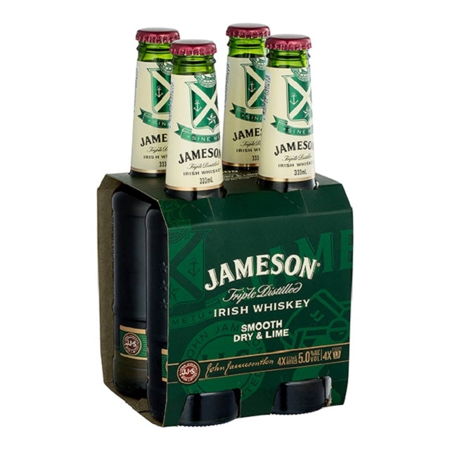 Jamesons Dry & Lime 4 pack