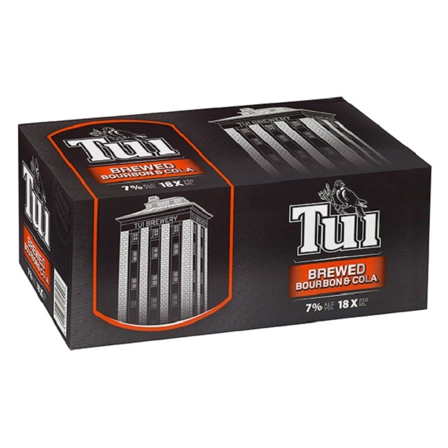 Tui Bourbon & Cola 18 pack cans