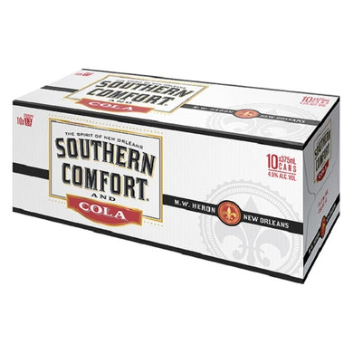 Southern Comfort 10 pack cans