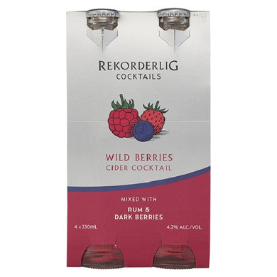 Rekorderlig Cocktail Berries 4 pack