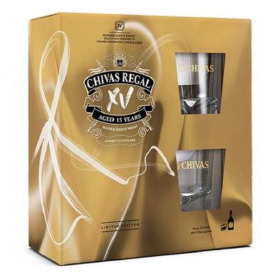 Chivas Regal XV Gift Pack