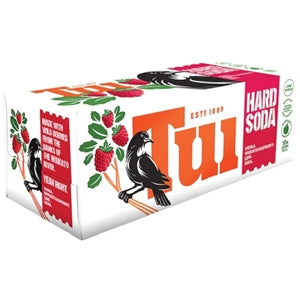Tui Vodka Raspberry Lime 10 pack