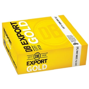 Export Gold 24 pack cans