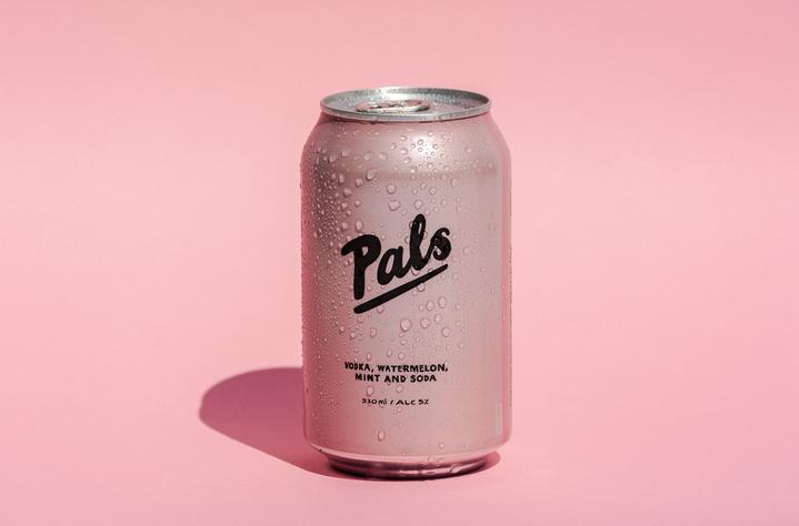 Pals Vodka Watermelon Mint & Soda 10 packs