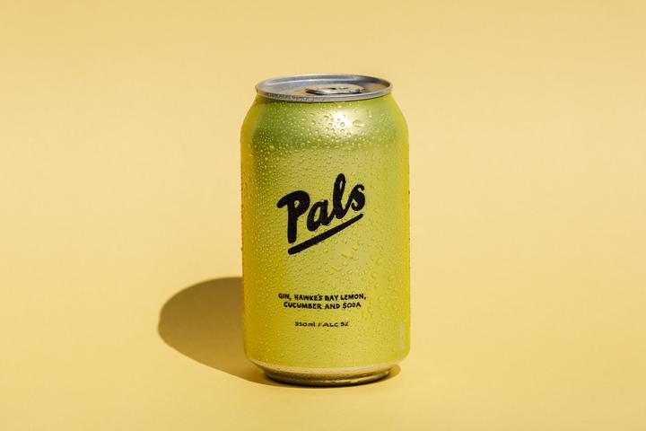 Pals Gin Lemon Cucumber & Soda 10 packs