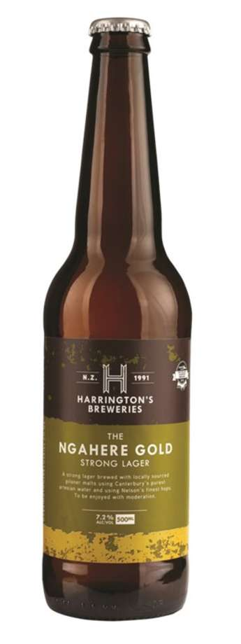 Harrington 500ml Ngahere Gold
