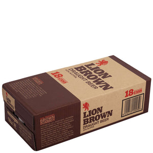 Lion Brown 18pack 330ml