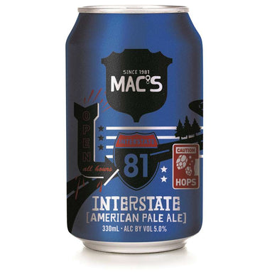 Mac's Interstate APA 6 pack cans