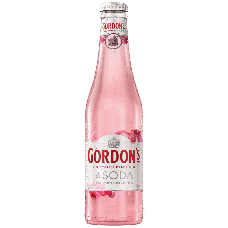 Gordon's Pink Gin 4 packs