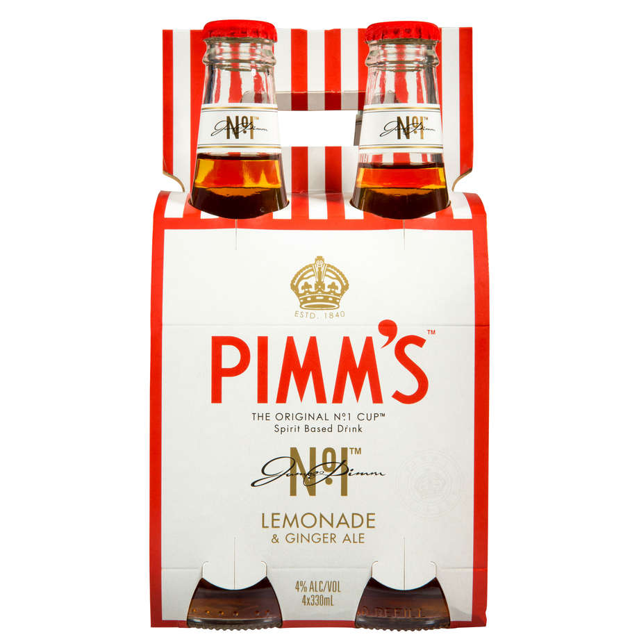 Pimms Lemonade & Ginger Ale 4pack