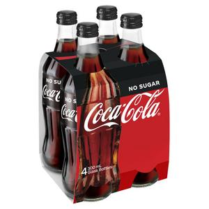 Coke - no sugar 4 pack