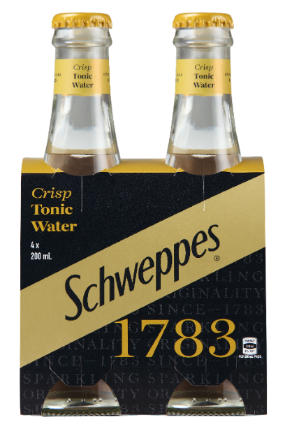 Schweppes 1783 Tonic Water 4 pack