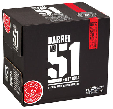 Barrel 51 12pack bottles