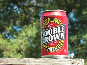 Double Brown 330 single can