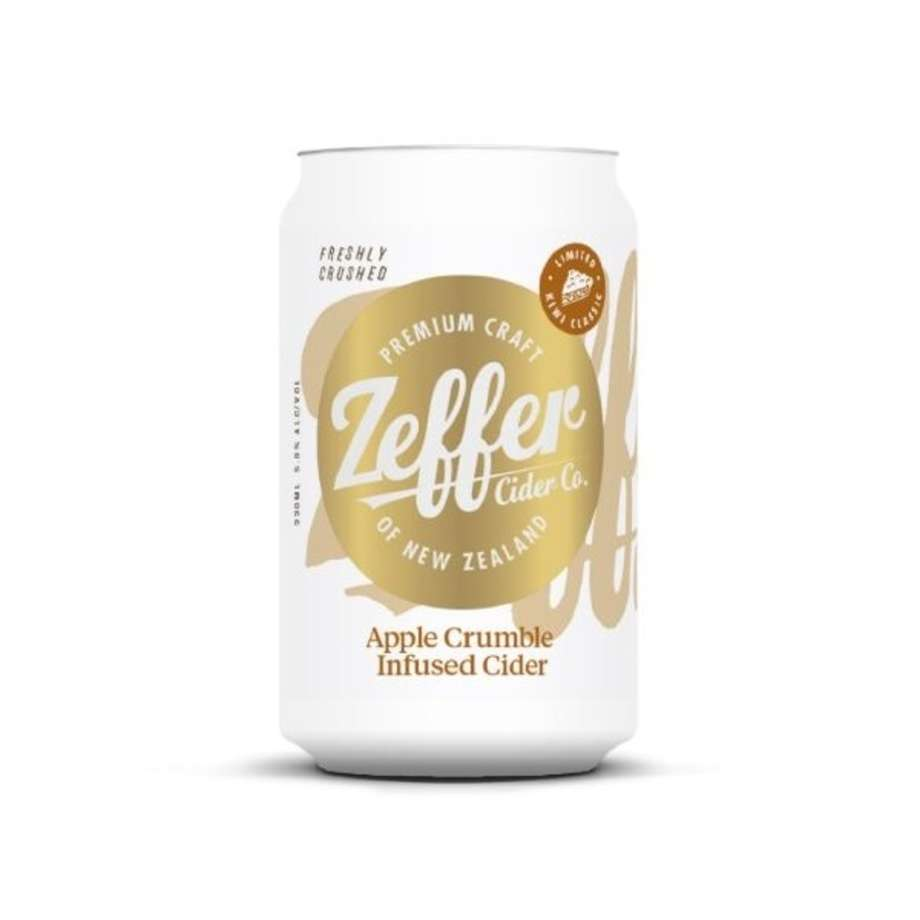 Zeffer Apple Crumble 330ml Can