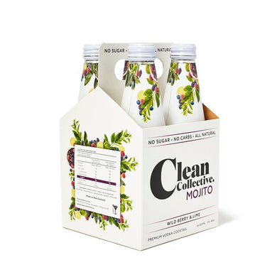 Clean Collective Wild Berry 4 pack