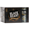 Black Heart Rum & Cola 7% 12 cans