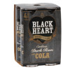 Black Heart Rum & Cola 300ml 4 pack