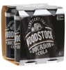 Woodstock & Cola 6% 4 pack 420ml
