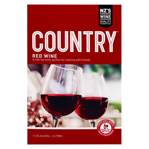 Country Red 3L