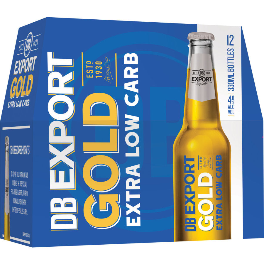 Export Gold Extra Low Carb 12 pack