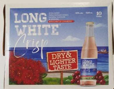 Long White Crisp Cranberry 10 pack