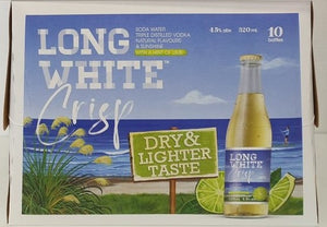 Long White Crisp Lime 10 pack