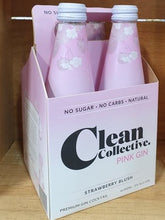 Load image into Gallery viewer, Clean Collective Pink Gin 4 pack