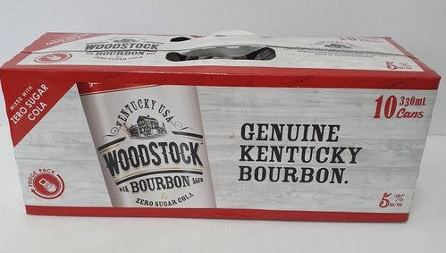 Woodstock & Zero Sugar 10 pack cans