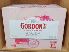 Load image into Gallery viewer, Gordon's Pink Gin & Soda 12 pack cans
