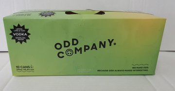 Odd Company Lemon, Lime & Yuzu 10 pack 330ml cans