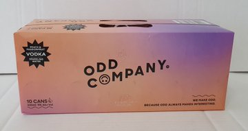 Odd Company Peach & Passionfruit 10 pack 330ml cans