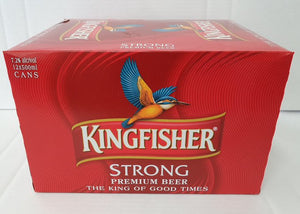 Kingfisher 500ml 7% 12 pack cans